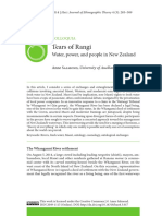Tears of Rangi Water Power and People In