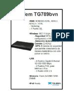 Technicolor Tg 789 Vn Bonded