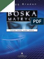 Gregg Braden - Boska Matryca- Fragment