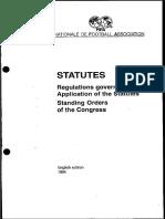 FIFA statutes 1994