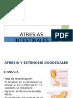 ATRESIAS INTESTINALES