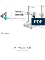 Prusa i3 Rework Rev1.5 - Assembly Instructions