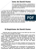O Empirismo de David Hume