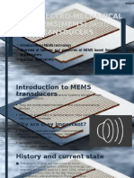 Micro Electro Mechanical Systems Based Sensors