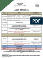 Calendário de Matricula NUPEL 2016.1 Homologado.docx_1