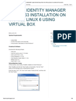 Oracle Identity Manager 11gr2 Ps3 Installation on Oracle Linux 6 Using Virtual Box