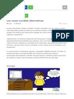 Las Redes Sociales Alternativas.html