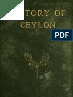 History of Ceylon