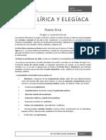 Poesía Lírica y Elegíaca