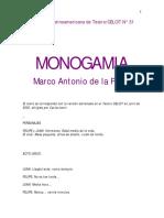 Drmatica latinoamereicana Monogamia