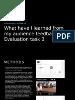 Evaluation Task 3 Word Doc