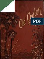 Old Ceylon 1877