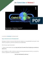 Como instalar Control Ciber en Windows 7 By Ðj _®¥k¥~Tø
