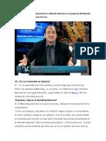 Entrevista Sobre Marketing Sensorial a Eduardo Sebriano