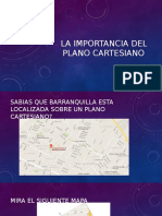 La Importancia Del Plano Cartesiano