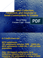 Wastewater Collection, Treatment, And Disposal in Small Communities in Croatia