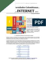 Estudio Universidades Colombianas y Su Presencia en INTERNET 2013