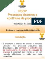 Processos Discretos e Contínuos de Produção
