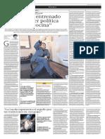 """""""Yo estoy entrenado para hacer política desde la cocina"""" (2013-08-24)"""