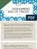 my assessment bag of tricks-urgo