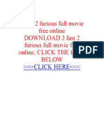 2 Fast 2 Furious Full Movie Free Online