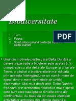 2. Biodiversitatea Deltei Dunarii - Aspecte Stiintifice Bobonici Andreea XIB