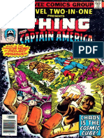 Marvel Two in One 42 Vol 1