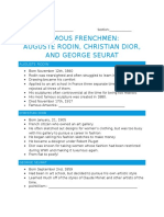 famous french notes