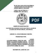 Protocolo de Salud Publica