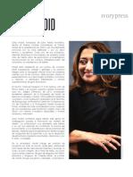 Biografía Zaha Hadid