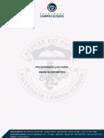 02 - Apostila - Educação Matemática Na Educação Básica e No Ensino Superior