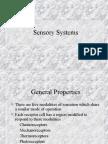 sensory mechanisms