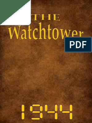 The Watchtower - 1944 issues   David   Jesus