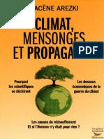 Climat, Mensonges Et Propagande - Hacène Arezki2