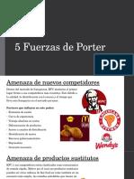 5 Fuerzas de Porter KFC