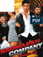 Badmaash Company Press Kit