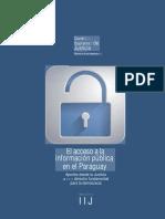 EL Acceso a La Información Pública en El Paraguay