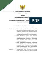 Hospital by Laws Rsud Bulukumba Tahun 2014 (Draft Perbup Blk)