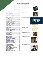 Ron Sexsmith Songbook