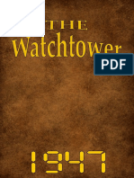 The Watchtower - 1947 issues