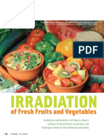 Irradiation of Fresh Fruits and Vegetables-IfT Report