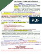 Derecho Procesal.MARTILLERO. EJERCICIOS DE LA GUÍA