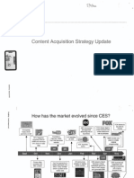 Content Acquisition Strategy Update