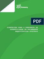Diretrizes Para a Presunção de Autenticidade de Documentos1