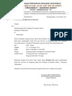 Surat Izin Observasi Kampung Naga