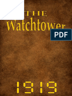 The Watch Tower - 1919 issues