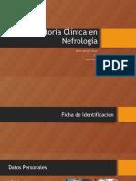 Historia Clínica en Nefrología
