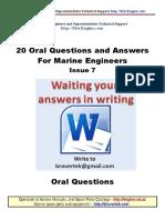 Part7 Q a Marine Engineer