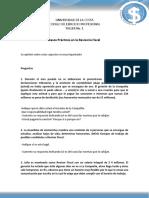 Taller No. 1 Casos Practicos en La Revisoria Fiscal - Nuevo Formato 2015 I