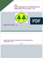 Diapositivas Reglamento Ley General de Cooperativas
